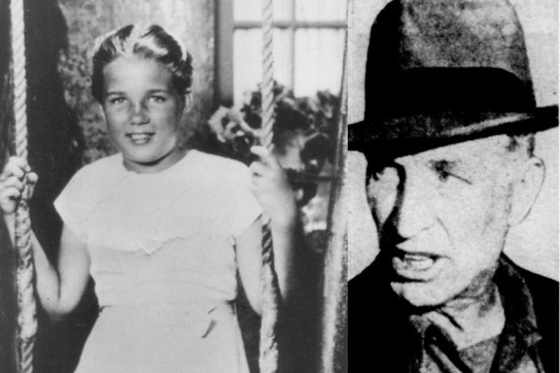 Салли Хорнер и похитивший её педофил Фрэнк Ла Саль