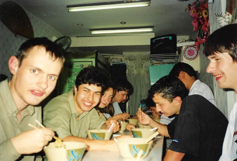 Николай и Антон крайние слева