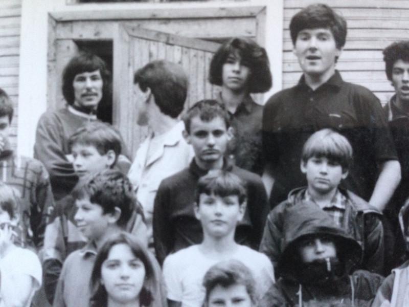 Николай Дуров в центре, 1994 год.