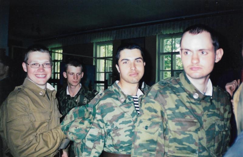 Николай Дуров крайний справа, в центре Антон Розенберг