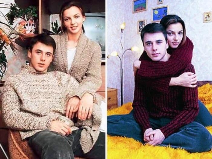 Игорь Петренко со своей первой женой Ириной Леоновой