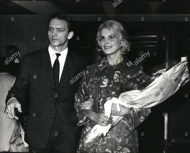 Марис Лиепа со своей второй женой Маргаритой Жигуновой