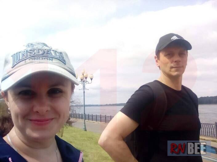 Сапрунова с убийцей своих детей, Виталием Молчановым