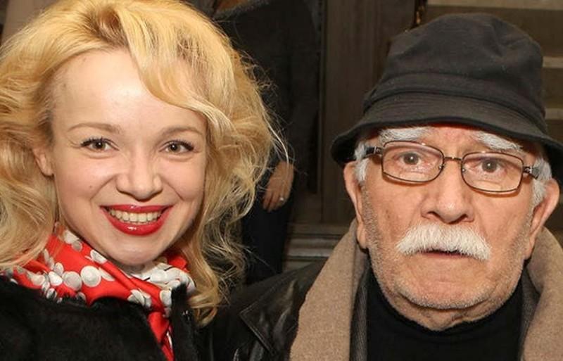 Виталина Цымбалюк со своим экс-мужем Арменом Джигарханяном