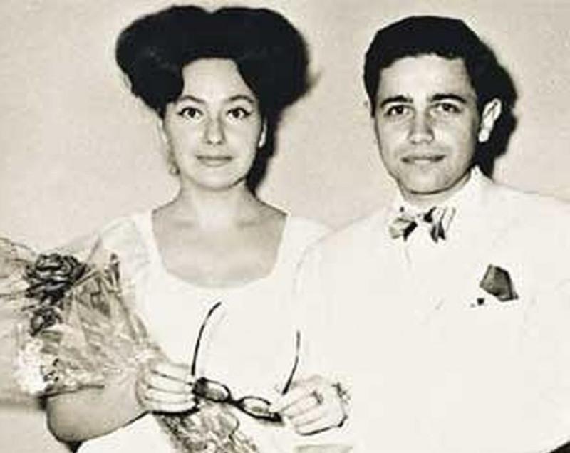Петросян со своей второй женой Анной Козловской