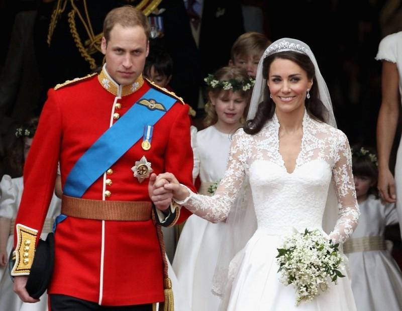 Свадьба Кейт и принца Уильяма, 2011г.