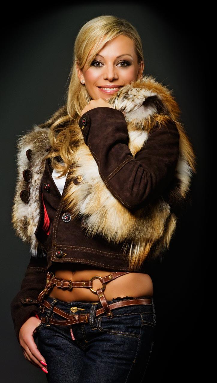 Ирина Салтыкова в молодости