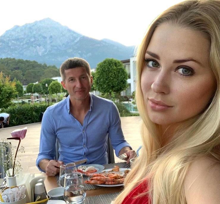 Евгений Алдонин с третьей супругой Ольгой