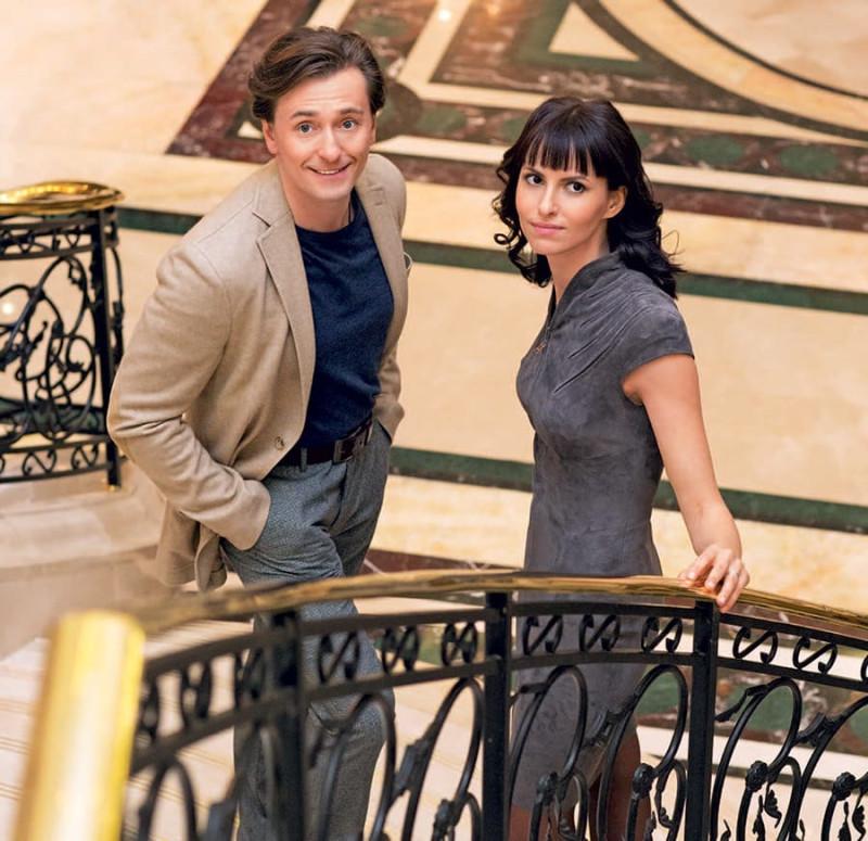 Сергей со своей второй женой Анной Матисон