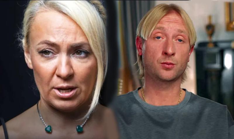 Рудковская/Плющенко - сразу так и не поймешь кто муж, а кто жена 😆