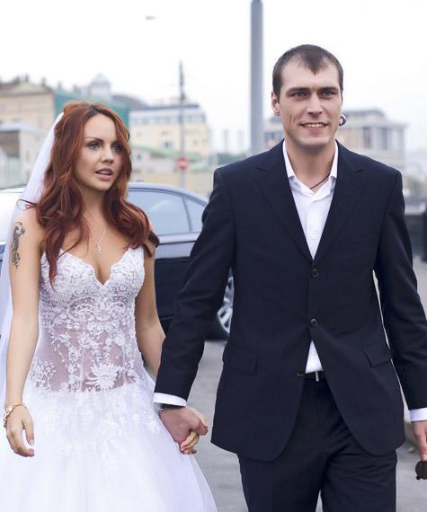 Максим с отцом своей старшей дочери Алексеем Луговцовым
