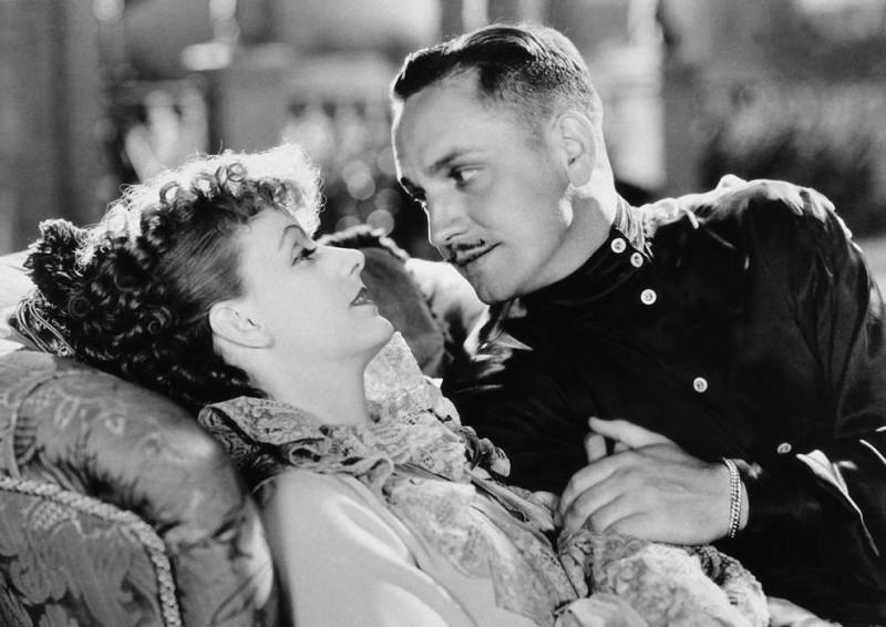 """""""Анна Каренина"""", 1935г. В ролях Грета Гарбо и Фредрик Марч"""