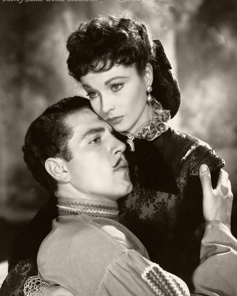 """Анна Каренина"" 1948г. В ролях Вивьен Ли и Кирон Мур"