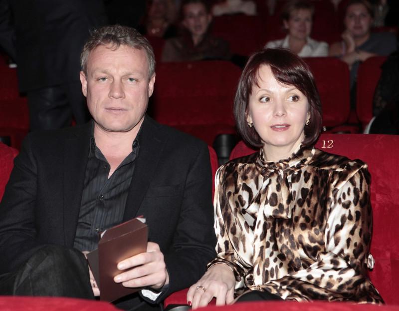 Сергей со своей первой (и второй) женой Верой Новиковой