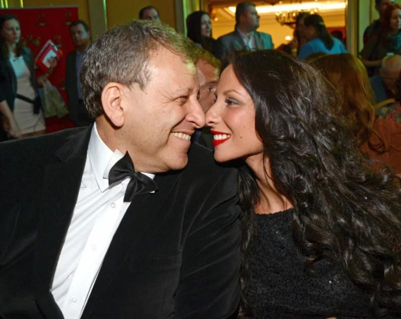 Борис Грачевский со своей второй женой Анной Панасенко