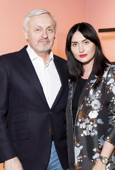 Елена с отцом Дмитрием Пинским