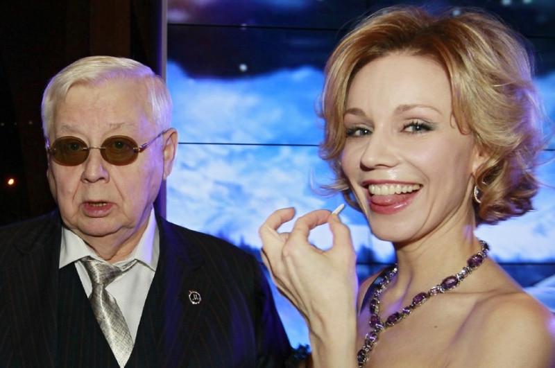 Олег Табаков наверняка не предполагал, как сложно будет Марине держать лицо после подобных откровений