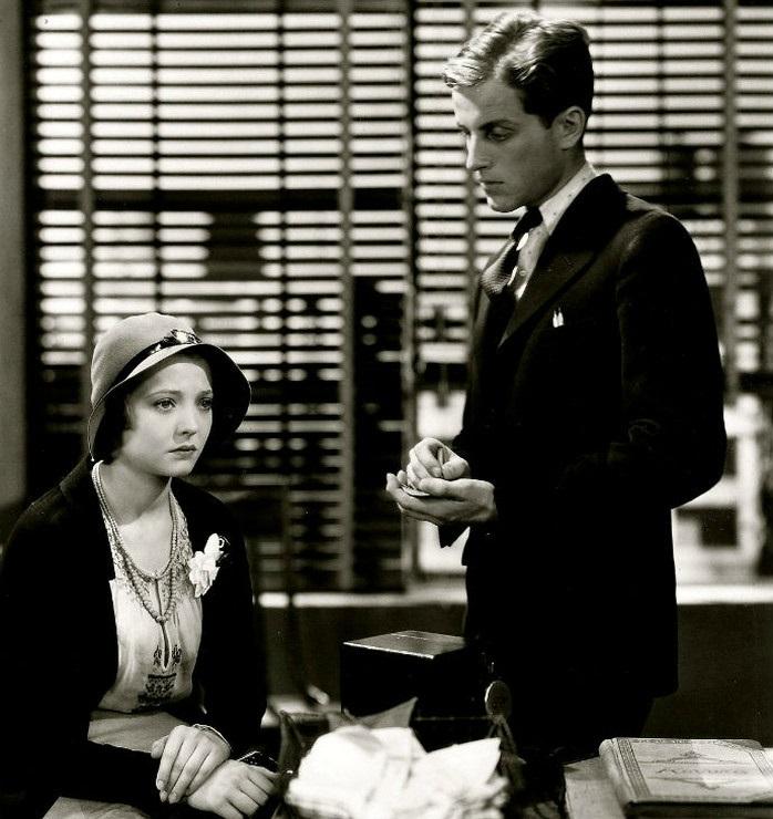 """кадр из фильма """"Американская трагедия"""" по роману Т. Драйзера, 1931г."""