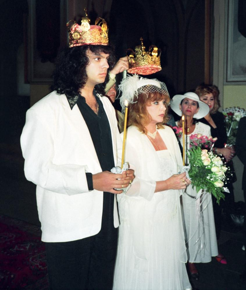 Венчание Киркорова и Пугачевой, которое проходило в Израиле