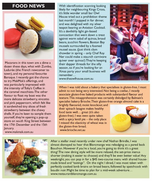 IWI-291112 Food News