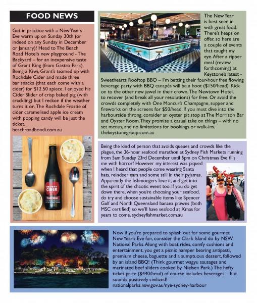 Bondi-View-19-December-Food News