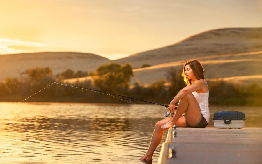зевки на рыбалки