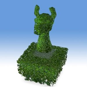 2004-09 Surplus Llama Lawn Ornament