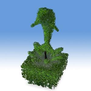 2004-09 The Poetic Porpoise Topiary