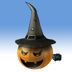 2004-10 Jack-O-Hattern Luminous Lawn Ornament