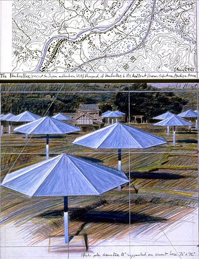 umbrellasJeanClaudeCristo