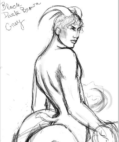 capricorn sketch