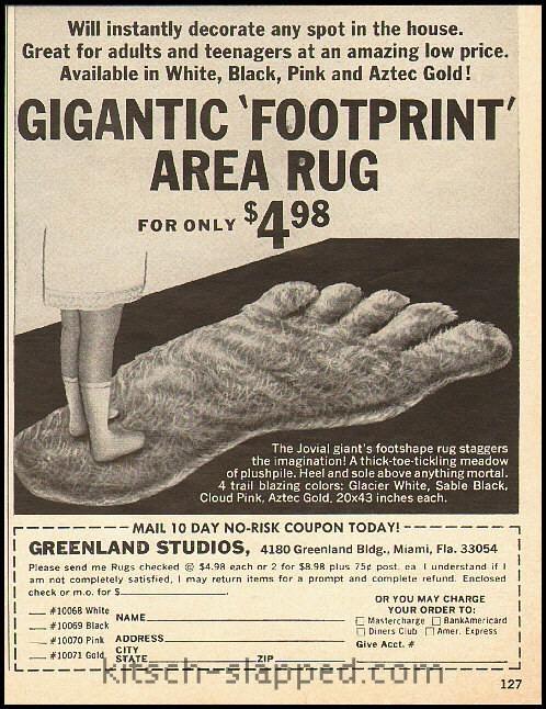 footrug