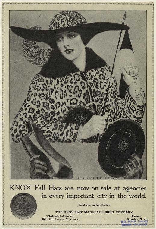 1913 knox fall hats