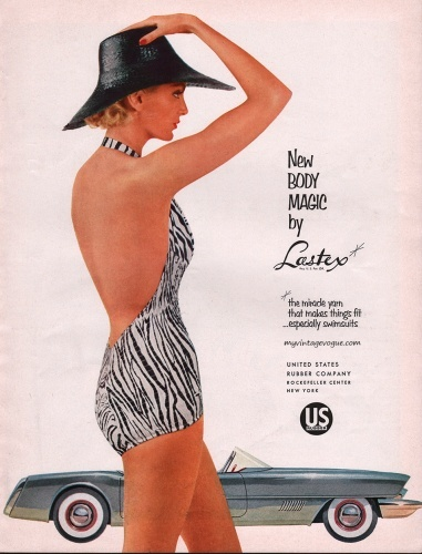 1954 lastex zebra