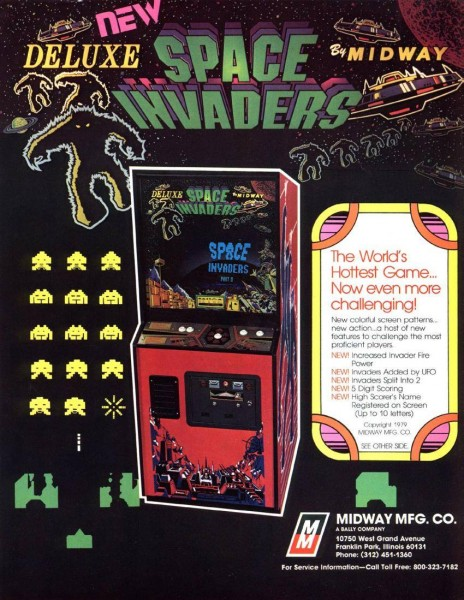 Space.Invaders.Deluxe.Arcade.Flyer