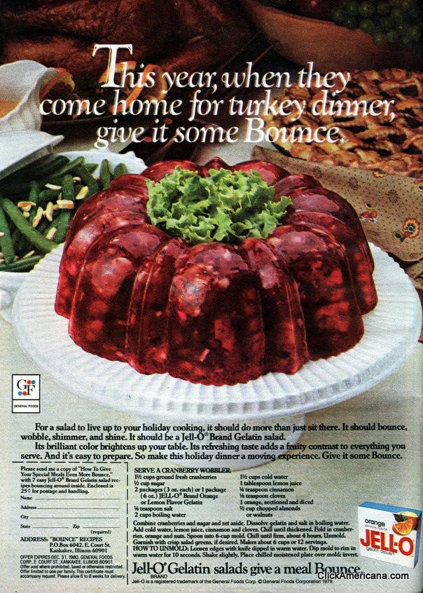 leftover turkey jello