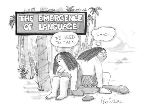 emergence of language