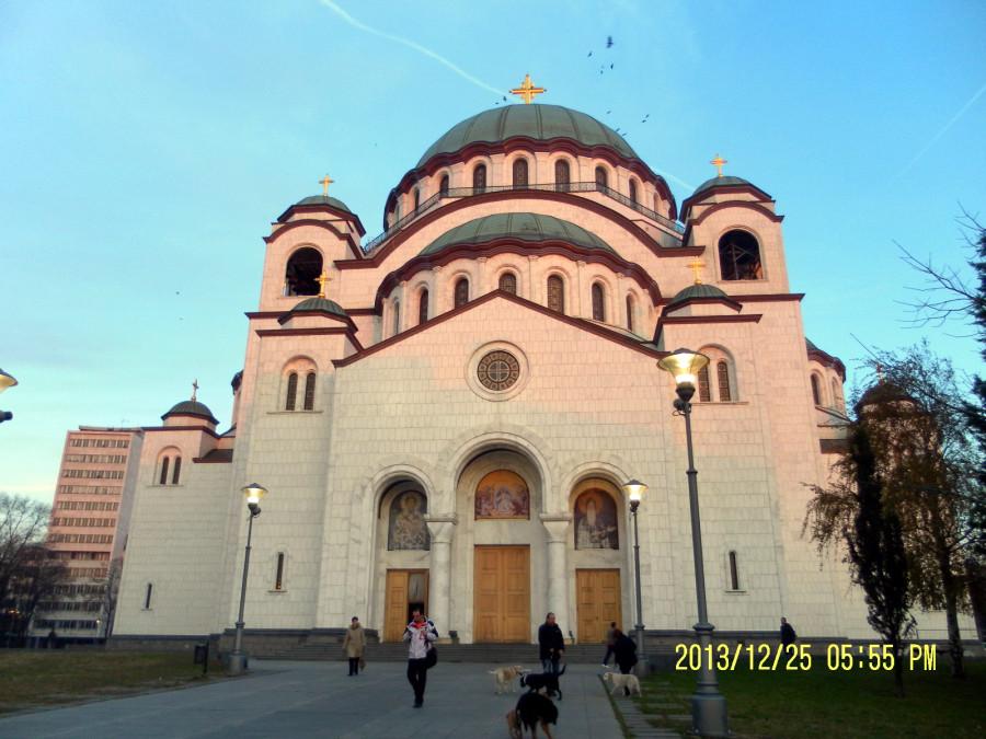 Самый центральный храм в Белграде