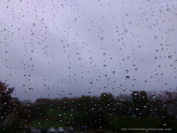 Дождливое окно