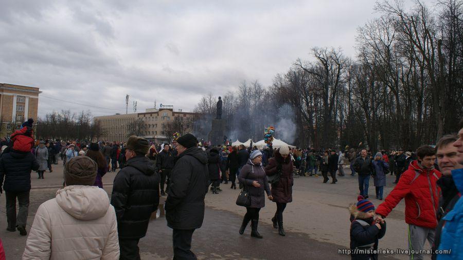 Масленица Великий Новгород 2016