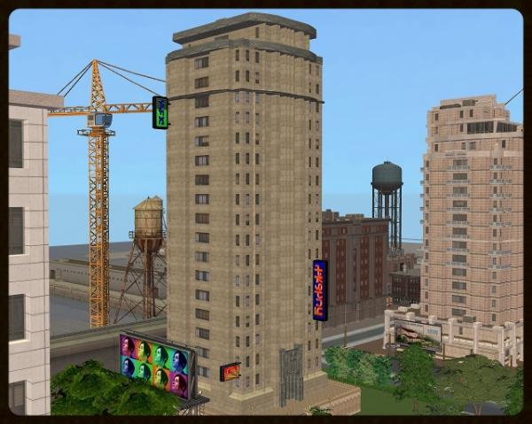 Make Me High Sims 3 Late Night Metropolitan Buildings Part Four