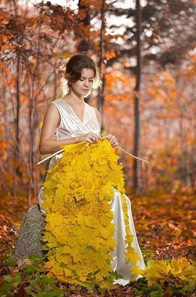 осень-вязальщица