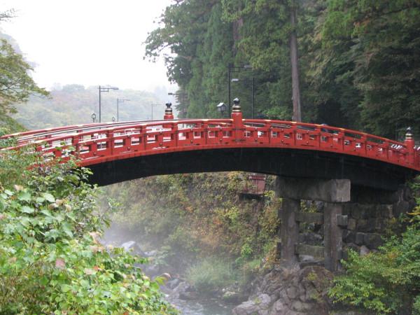 the famous bridge of Nikko