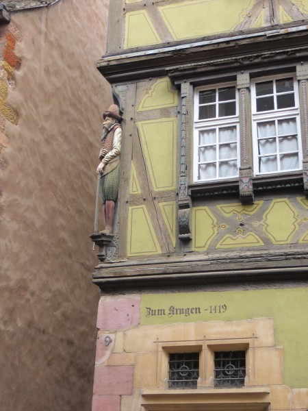1 -one of Colmar's oldest houses