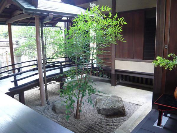 ouba-in dry garden