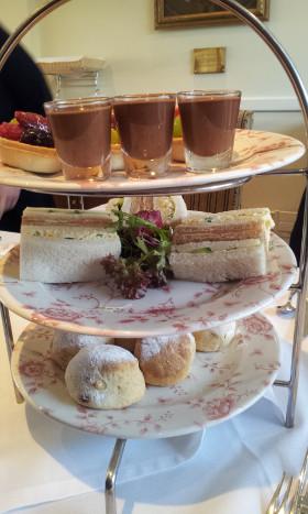 Afternoon tea for LJ