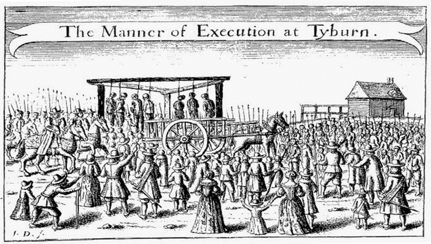 The Manner of Execution at Tyburn