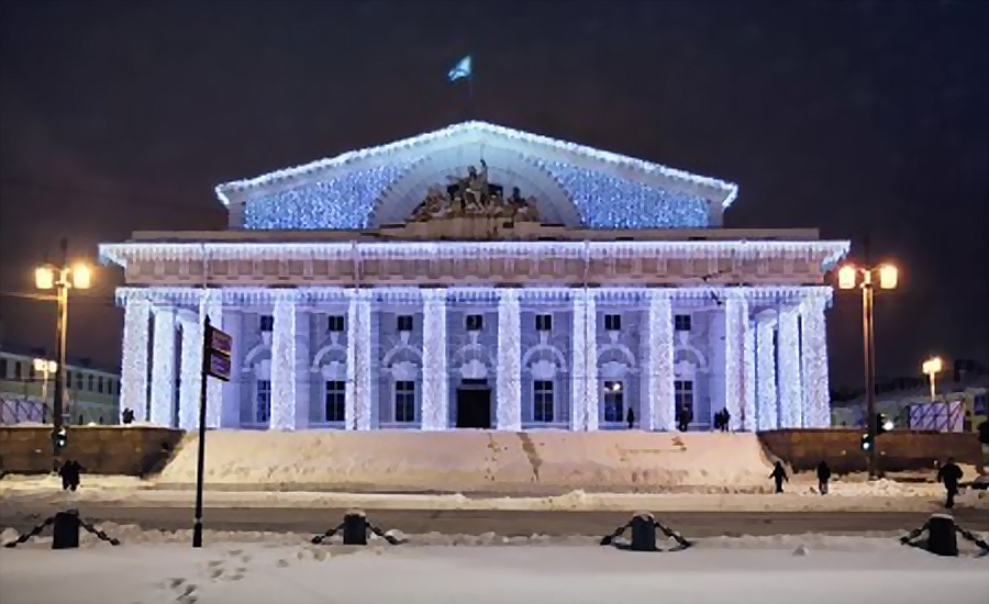 Saint Petersburg Birzha 900