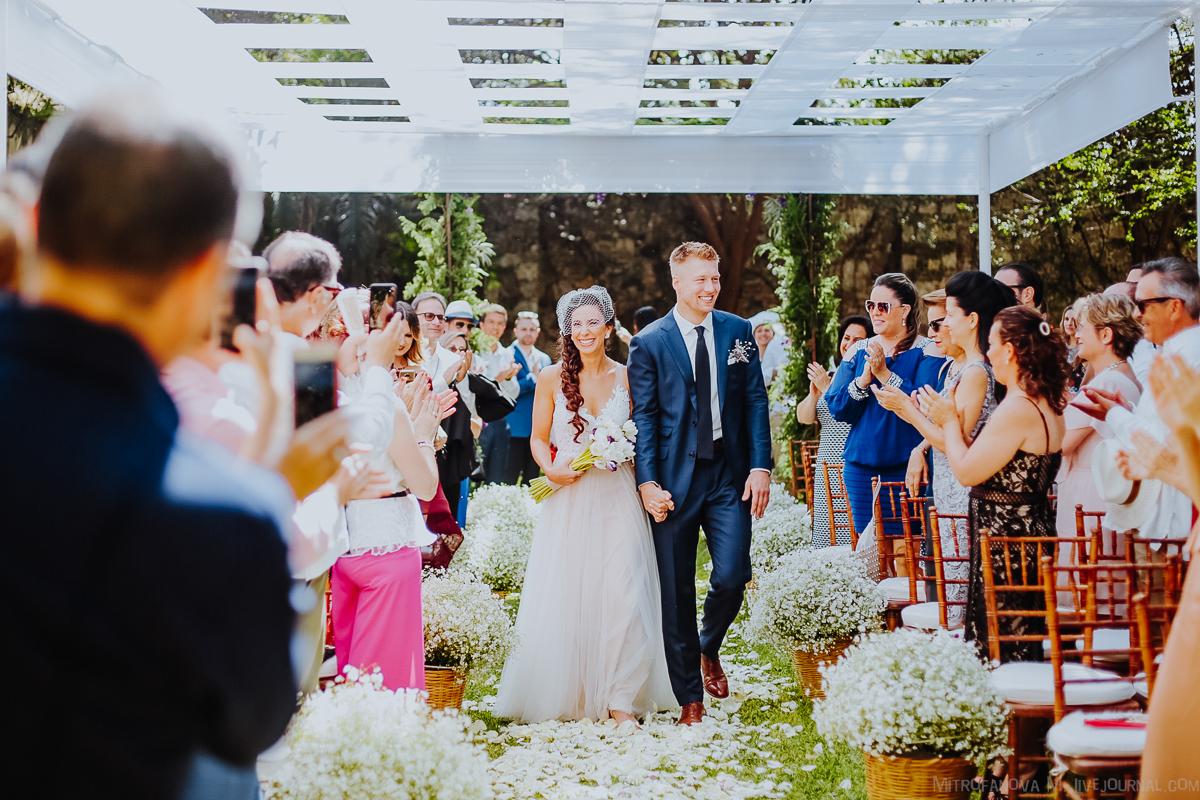 Свадьба в Мексике: Алекс и Кари