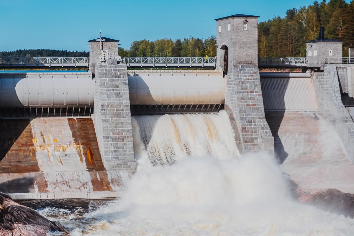 Спуск воды в Иматре